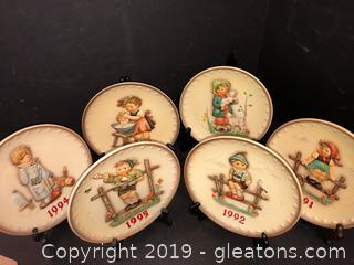 Plate Lot Of Collectibles By MJ Hummel Goebel