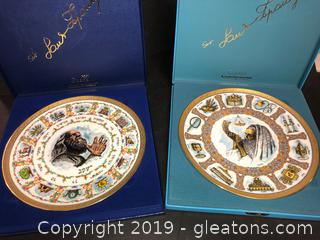 Beautiful Goebel First Limited Edition Plates