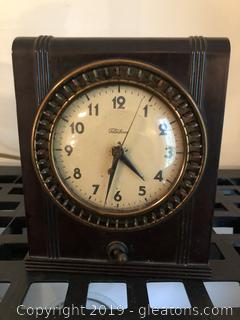 Vintage Telechrorn Electric Clock
