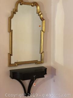 CHINOISERIE GOLD LEAF MIRROR