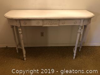 Anitique Buffet / Console Table with Drawer