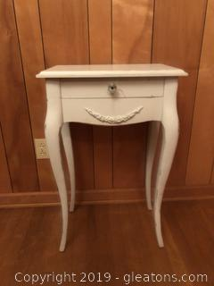 Vintage Sabre Leg Table with Jewerly Drawer