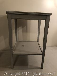 Shabby Chic Painted Side Table