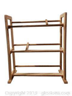 Wooden Shoe Rack