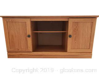 Wood Like TV Stand Console table