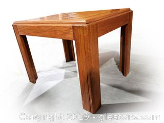 Small Mid Centry Wooden End Table