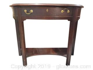 """Gordon's"" Small Half Moon Entry Console Table"
