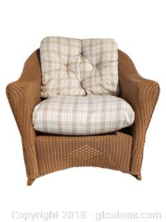 High End Lloyd Flanders Reflection Wicker Rocker