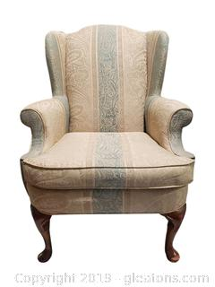 """Studio Bernhardt"" Wingback Chair"