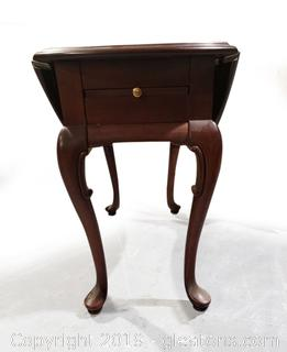 Very Nice Drop Leaf Writing End Table