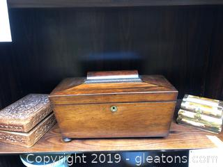 Beautiful Wooden Boxes-All Vintage