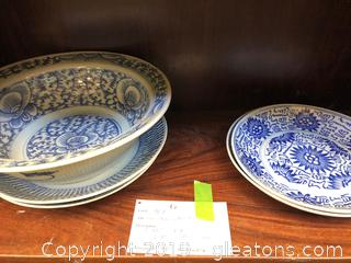 Five Chinese Bowls