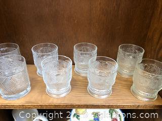 Set of 8 Beverage Glasses