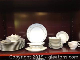 Noritake China Pieces Colburn Design