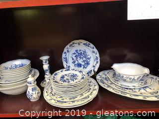 Blue Danube China Pieces