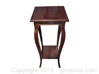 Wooden Side table or Plant Stand