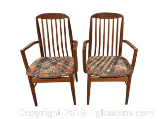Nice Pair of Teak Chairs