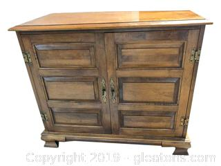 Small Maple Cabinet