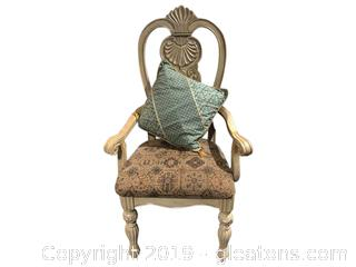 Gorgeous Heavy French Country Chair.