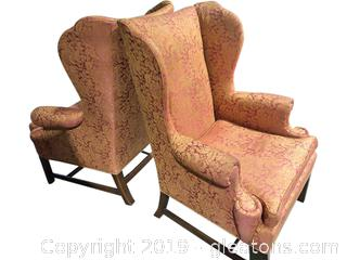 Pair of Henredon Arm Chairs