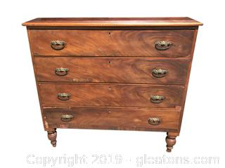 Beautiful Antique Upright Chest of Drawers