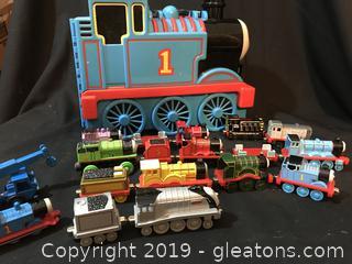 Thomas train case and train lot