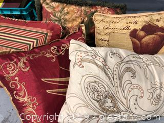 Five Nice Accent Pillows