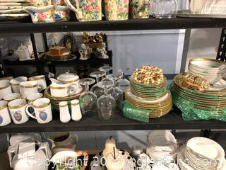 Large Set Of China Plus Accessories