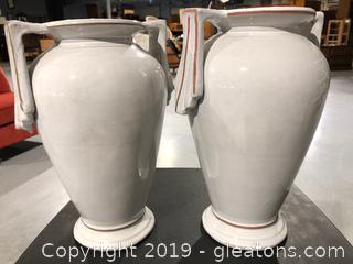 2 Beautiful Urns/Vases