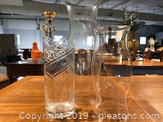 Clear Glass Decor