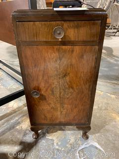 Antique Art Deco Side Table