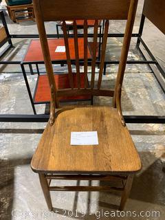 Old Farmhouse Accent Chair
