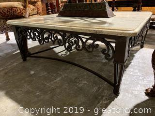 Large Granite coffee Table