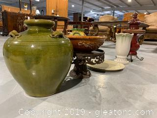 Designers Lot Pottery and Iron Accents