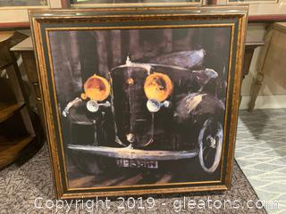 Antique Auto Wall Art