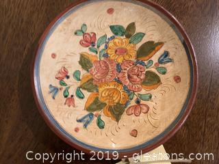 New Deruta Decorative Plate