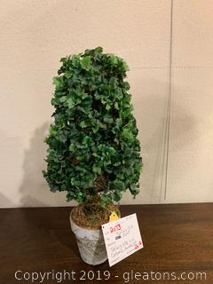 New Topiary Silk Plant