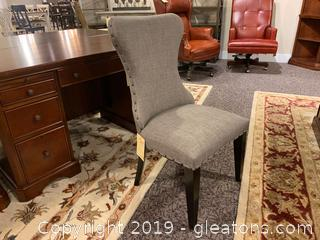 New Upholstered Wingside Chair