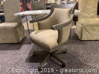 New Upholstered Desk Chair by Uttermost