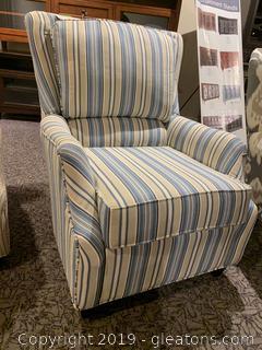 Queen Anne Arm Chair  By Lancer Inc