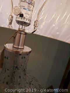 MFG by Uttermost Blown Glass Table Lamp
