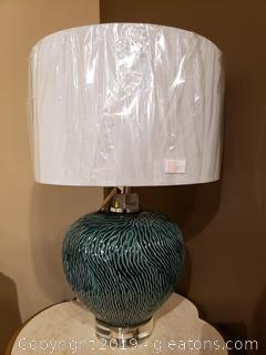 """New"" Ceramic Uttermost Accent Table Lamp (A)"