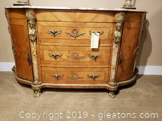Beautiful French Buffet or Foyer Table