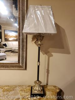 New Tall Uttermost Decorative Accent Table Lamp
