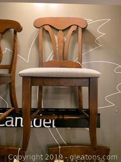 Dining Chair with cushioned seat