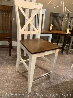 Modern Farmhouse Wooden Chair