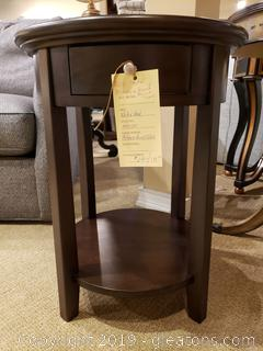 """New"" Mckenzie Round Accent Table"