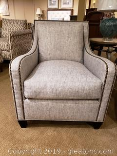 """New"" Designer Ramsey Chair By CR Laine"