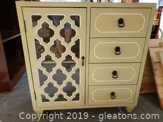 Small Decorative Console Cabinet