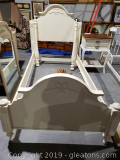 Lovely Twin Bed by Lexington
